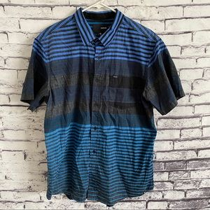 Hurley Striped Button Down Board Shirt